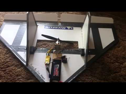 Homemade RC Delta Wing!!