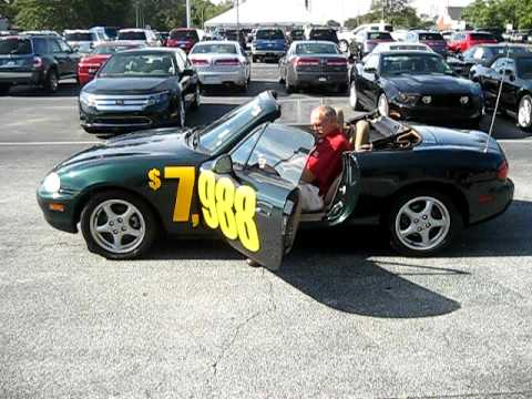 1999 mazda miata Billy Howell Ford 770-887-2311 only $7998.00 ask For Wayne