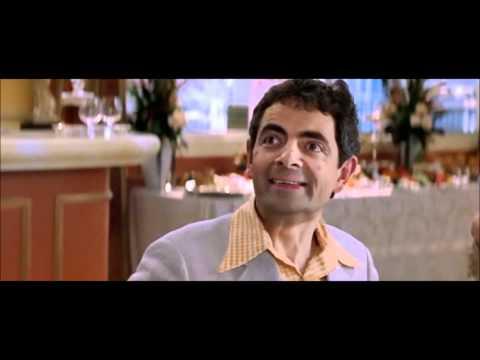 """It's a Race! I hope I win..."" Rowan Atkinson, Rat Race HD."