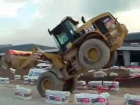 bulldozer tricks
