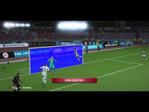 FIFA 17 - Goal Line Technology Compilation #3 HD