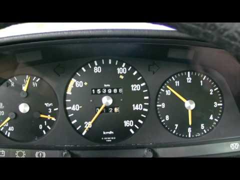 Mercedes W123 240D 1982