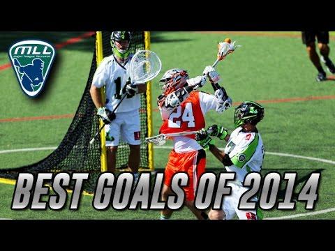 Major League Lacrosse: Best Goals of 2014