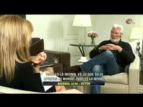Richard Gere habla sobre su experiencia con el budismo