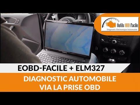 ELM327 + Logiciel EOBD-Facile : Diagnostic auto via la prise OBD