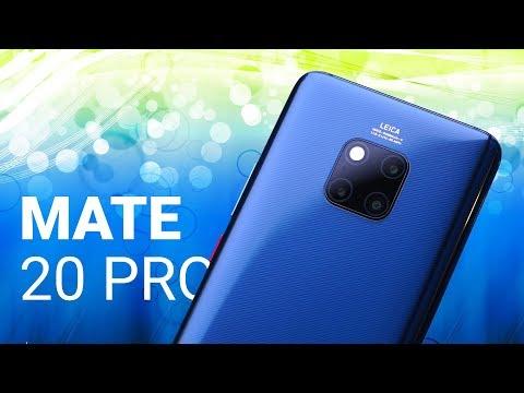 Huawei Mate 20 Pro, Mate 20X и другие новинки: быстрый обзор