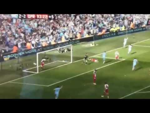 Sergio Aguero Goal vs QPR - Winning goal