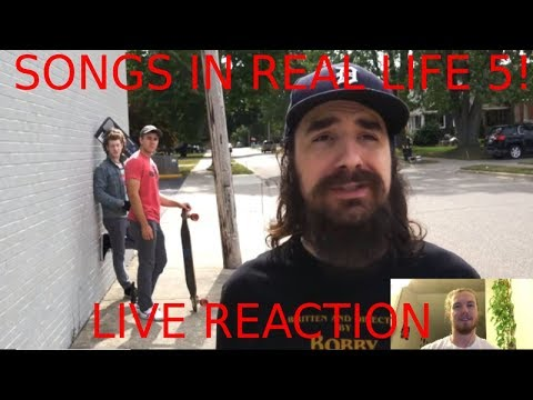 SONGS IN REAL LIFE 5 by SteveKardynal REACTION