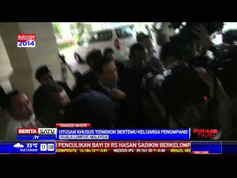 Utusan Khusus Tiongkok Temui Keluarga Penumpang MH370