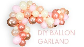 DIY BALLOON GARLANDS BY JAMBOREE STYLE