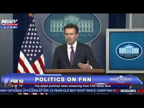 """That's Never Happened Before"" White House Press Secretary"