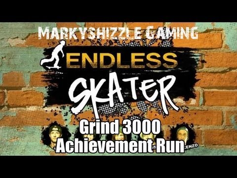 Endless Skater Grind 3,000 Achievement on School - Windows 8 Win8 3K 3000 Markyshizzle Guide