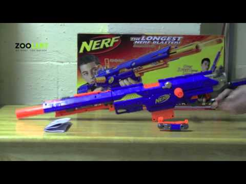 zooLert - Nerf Longstrike CS-6 Review