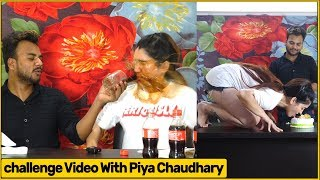 Challange Video With Piya Chaudhary (KDT)| Funky Joker