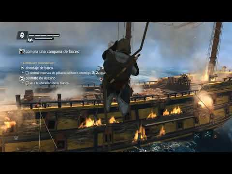 Abordar barcos de nivel mas alto / difícil - Assassin's Creed 4 Black Flag - Tutorial / Truco