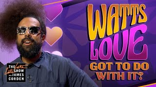 Reggie Watts Is Looking for Love