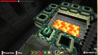 Minecraft PE 0.9.5: Explorando Semilla con Structura con Portal al Fin