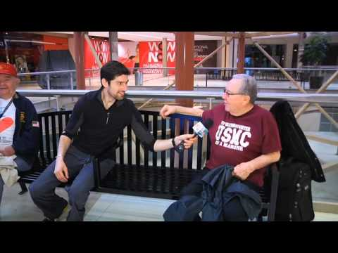 Ben Aaron Introduces A NEW Sport...Mall Walking!
