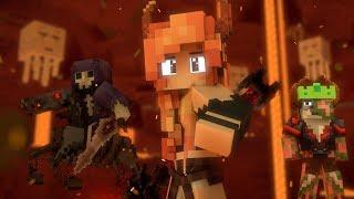 """""""Begin Again"""" - A Minecraft Original Music Video ♪"""