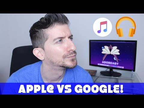 Apple Music Vs Google Music For Android!