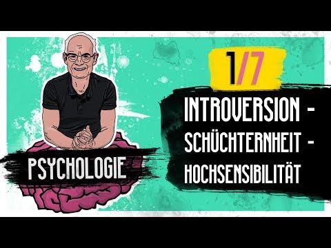 (1/7) Introversion, Schüchternheit, Hochsensibilität  - Psychologie Tipps #011