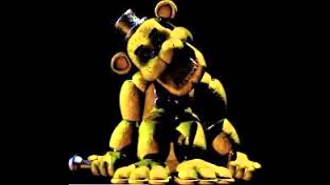 FNAF Golden Freddy Scream short - YouTube