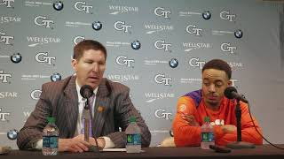 Brad Brownell, Marcquise Reed post Georgia Tech
