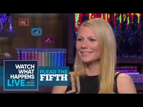 Gwyneth Paltrow's Plead the Fifth