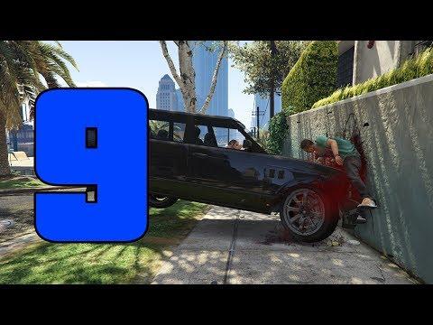 GTA SUPER Epic Fails 3 | ATROPELLANDO GENTE | Capitulo 9