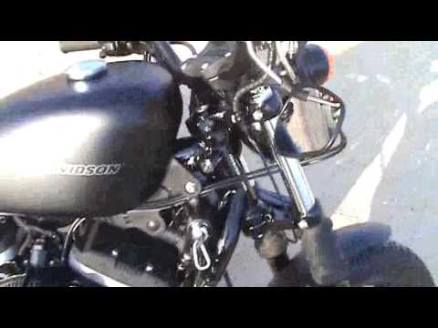 harley davidson 2010 sportster iron 883 to 1200 cc conversion big bore kit,cams n8,v&h sideshorts Video