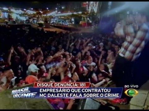 Novas imagens de frete para plateia sobre Daleste - Brasil Urgente 09/07/13