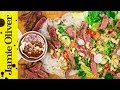Seared Beef Noodle Salad | DJ BBQ | Real Time Recipes