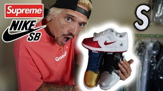 I CASHED OUT ON SUPREME NIKE SB DUNK *ALL COLORS* WEEK 2 PICKUPS