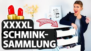 MEINE HEFTIGE XXL SCHMINKSAMMLUNG 💄 | Make Up Collection | COCO