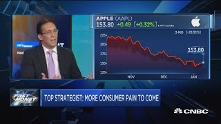 'There's more pain ahead for the consumer, says Wells Fargo strategist