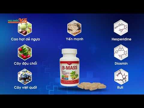 BMASS - Sản phẩm nhập Mỹ đẩy lùi bệnh trĩ