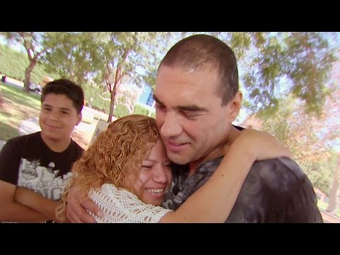 Eduardo Yáñez sorprendió a una madre inmigrante