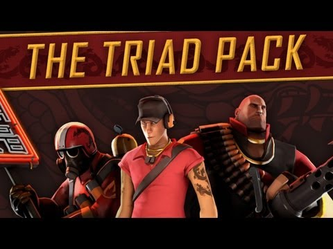 TF2 Triad Pack Update [Commentary] All Weapons Demonstrated