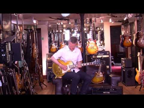 2013 Spec Gibson 1956 Goldtop Demo with Stuart Ryan