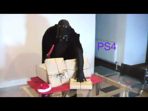 How Darth Vader Stole Christmas (and a PS4!) - Khemeia Christmas Party | Star Wars Funny