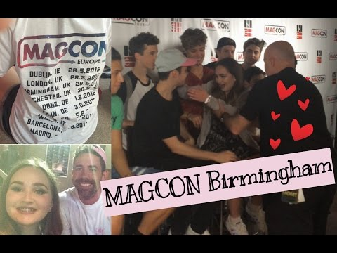 MY MAGCON EXPERIENCE 2016   FAMILY PHOTO OP