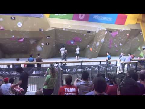 Boulder World Cup 2013 report - Toronto, Canada