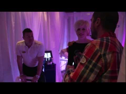 Zane Lowe Tours the BRITs Spa I BRITs 2013