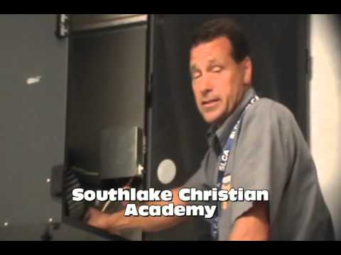 Integrity HVAC maintenance video with Tim Reed at Southlake Christian Academy