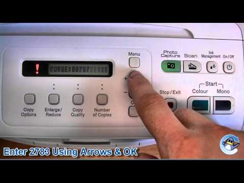 How to Reset Purge Counter on Brother DCP-195C or DCP-197C Printer