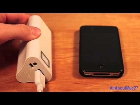 Review: Yoobao Power Bank for iPad 3. iPhone 4/4S. etc.   KeviKev Powerbank 6600 mAh 11200 mAh