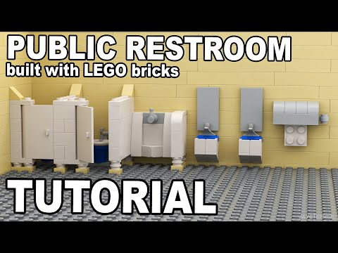 Tutorial - Lego Public Restroom