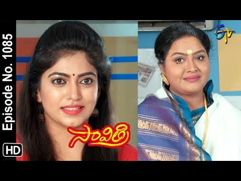Savithri | 21st  September 2018 | Full Episode No 1085 | ETV Telugu
