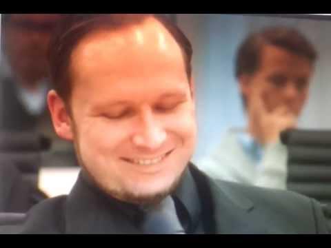 Anders Behring Breivik Laughing