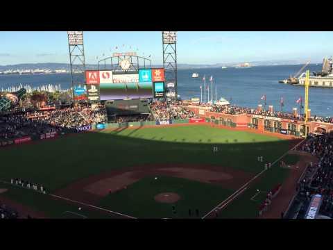 Giants Vs Phillies - AT&T Park - Match de baseball - 2015